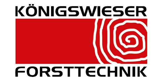 Logo Königswieser Forsttechnik, im Söllinger Produkt-Programm