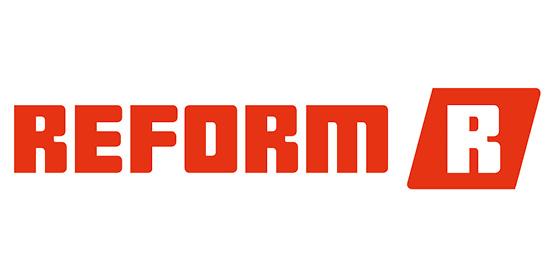 Logo Reform Spezialfahrzeuge für die Landwirtschaft und Kommunalwirtschaft, im Söllinger Produkt-Programm