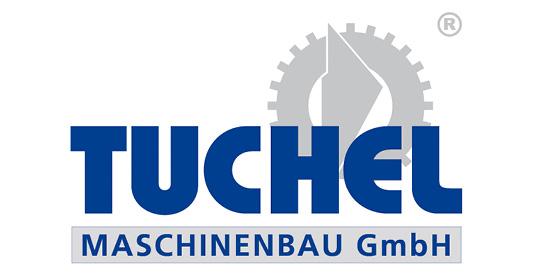 Logo Tuchel Maschinenbau GmbH, Kehrmaschinen und Schneeschilde für Traktoren und Trägerfahrzeuge, im Söllinger Produkt-Programm