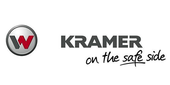 Logo Kramer Baumaschinen und Landmaschinen, im Söllinger Produkt-Programm
