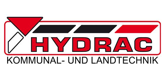 Logo HYDRAC Kommunaltechnik, Landtechnik, im Söllinger Produkt-Programm