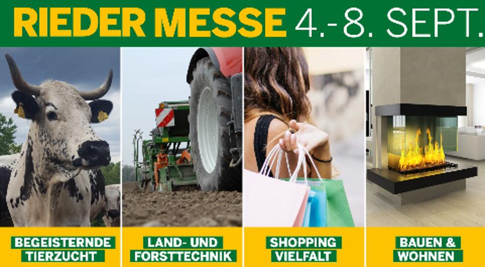 Rieder Messe 4.-8. September 2019