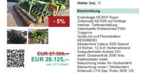 Söllinger Landtechnik Amazone KE3001 Super + Cataya 3000 Special