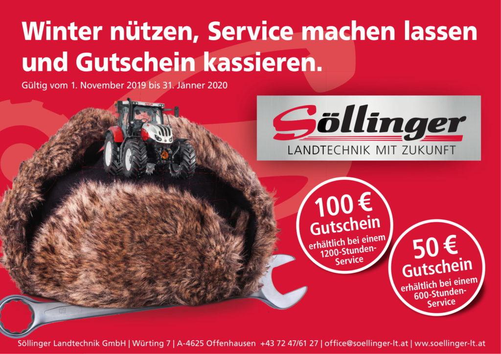 Söllinger Gutschein 1200-Stunden-Service
