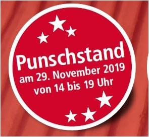 Söllinger Punschstand am 29. November 2019