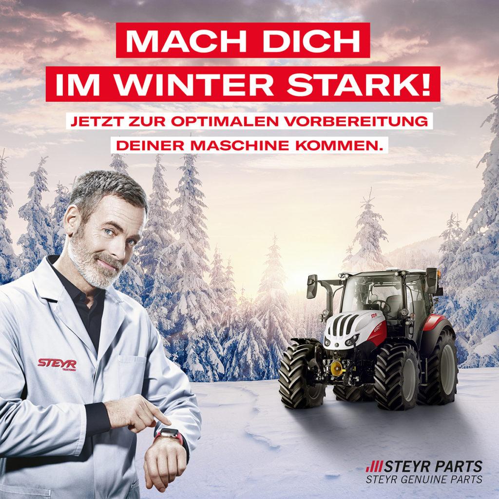 Steyr Winter Vorbereitung